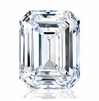 Charles and Colvard Emerald Cut Forever One Moissanite