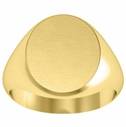 Classic Gold Signet Ring