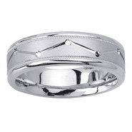 Constellation Mens Wedding Ring