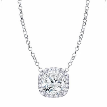 grande products gold necklace moissanite white supernova pendant