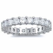 Cushion Diamond Eternity Band