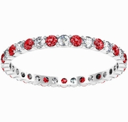 Diamond and Ruby Eternity Band 0.70cttw