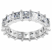 Diamond Eternity Band in Radiant Cut (5.00 cttw)