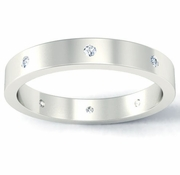Diamond Flat Landmark Eternity Band