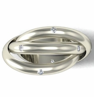 Diamond Trinity Ring