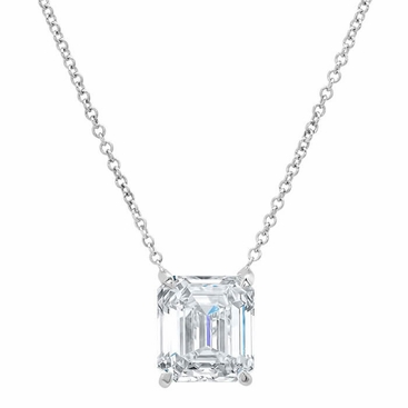 solitaire necklace diamond