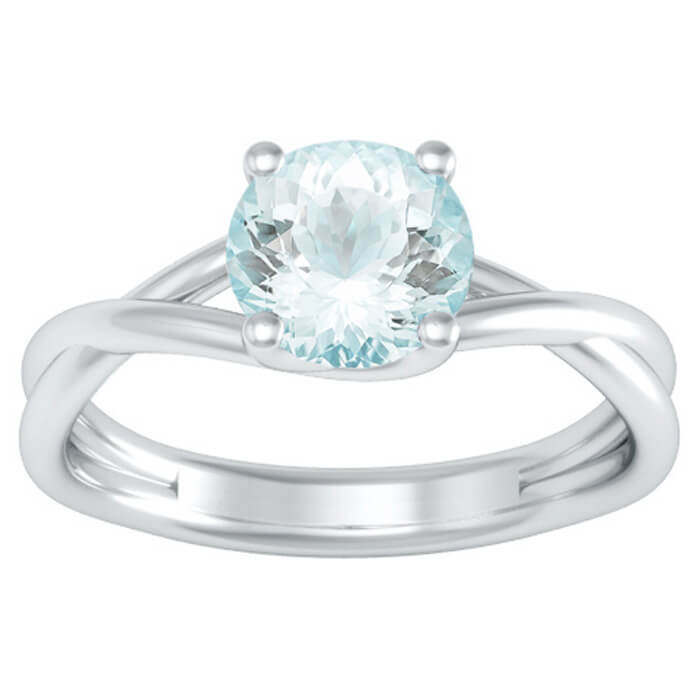simulated sizes halo xfbl ring cz aquamarine aqua rings sterling size engagement style promise dp