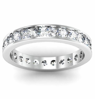 Eternity Channel Set Ring 1.50 cttw Diamonds