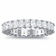 Eternity Ring with Radiant Diamonds (3.00 cttw)