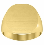Gold Signet Ring for Men