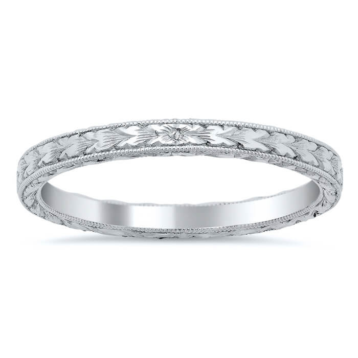 wedding ct products milgrain band bands sz platinum tiffany co dsc diamond