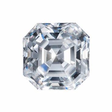 Harro Gem Custom Asscher Moissanite - click to enlarge