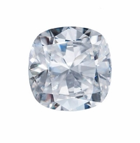 Harro Gem Custom Cushion Moissanite