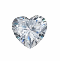 Harro Gem Custom Heart Shaped Moissanite