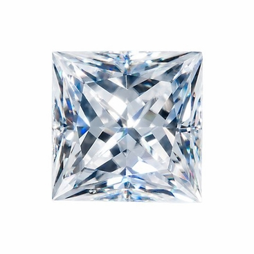 Harro Gem Custom Princess Moissanite - click to enlarge