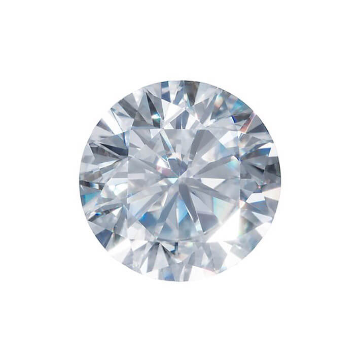 moissanite one jewelry genuine shop round loose gemstone