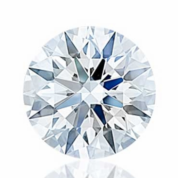 Charles and Colvard Hearts and Arrows Forever One Moissanite - click to enlarge