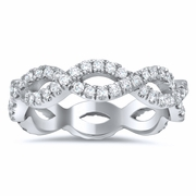 Infinity Diamond Eternity Ring