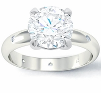 Landmark Diamond Engagement Ring