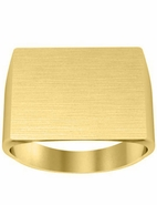 Large Square Signet Ring