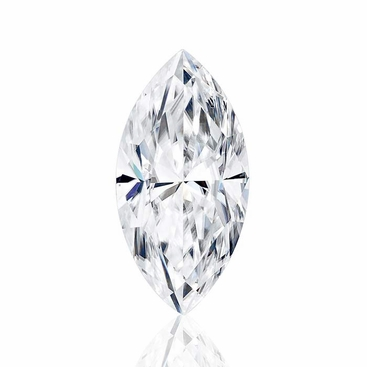 Marquise Cut Forever One Moissanite from Charles and Colvard - click to enlarge