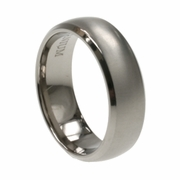 Mens Aircraft Grade Titanium Band in 7mm