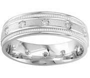 Mens Diamond Ring Eternity Style