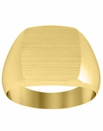 Mens Signet Ring Gold