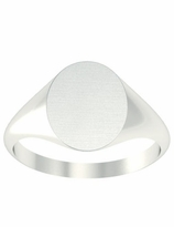 Open Back Womens Signet Ring