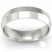 Plain Knife Edge Wedding Ring 5mm