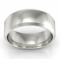 Plain Wedding Band in 14k 7mm