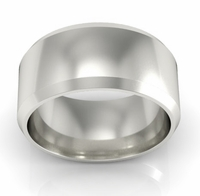 Plain Wedding Ring in 18k 9mm