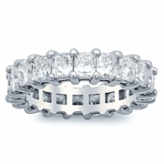 Radiant Cut Diamond Eternity Band (4.00 cttw)