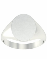 Rings Signet 11mm Wide Surface