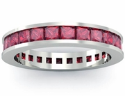 Ruby Eternity Anniversary Ring