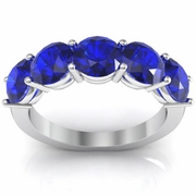 Sapphire Birthstone Ring September 3.00 cttw AAA Quality