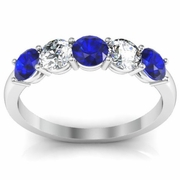 September Birthstone Ring 1.00cttw