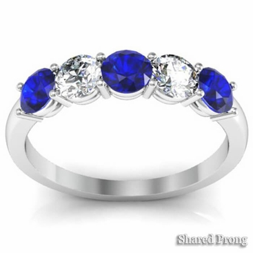 September Birthstone Ring 1.00cttw - click to enlarge