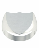 Shield Shaped Family Signet Ring