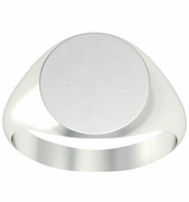 Signet Ring For Men Large Oval