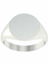 Signet Ring For Women Large Oval
