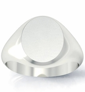 Signet Ring Oval Shaped