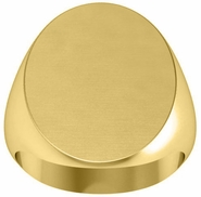 Signet Ring with Initials