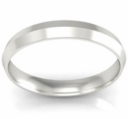 Simple Knife Edge Wedding Ring 3mm