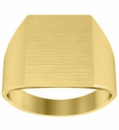 Square Signet Ring Mens