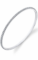 Stackable Diamond Bangle Bracelet