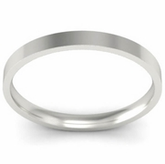 Thin Simple Wedding Ring 2mm