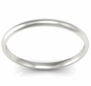 Thin Wedding Ring in 18kt Gold