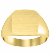 Traditional Gold Signet Ring