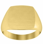 Traditional Monogram Signet Ring